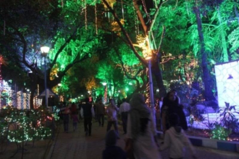 Park Street Kolkata During Christmas.Kolkata Christmas Festival Allen Garden In Park Street