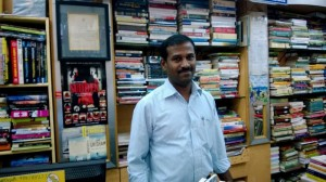 Mayi Gowda-Owner of Blossom Book House in Bangalore
