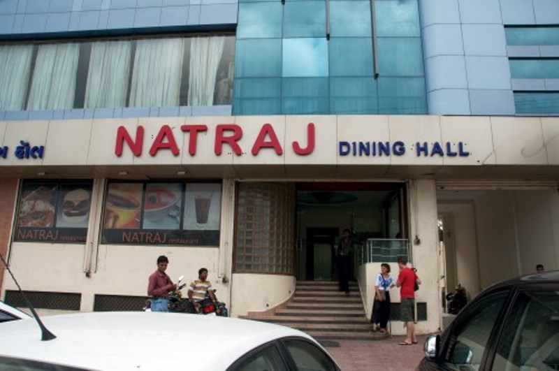 Natraj for dal bati churma in Udaipur