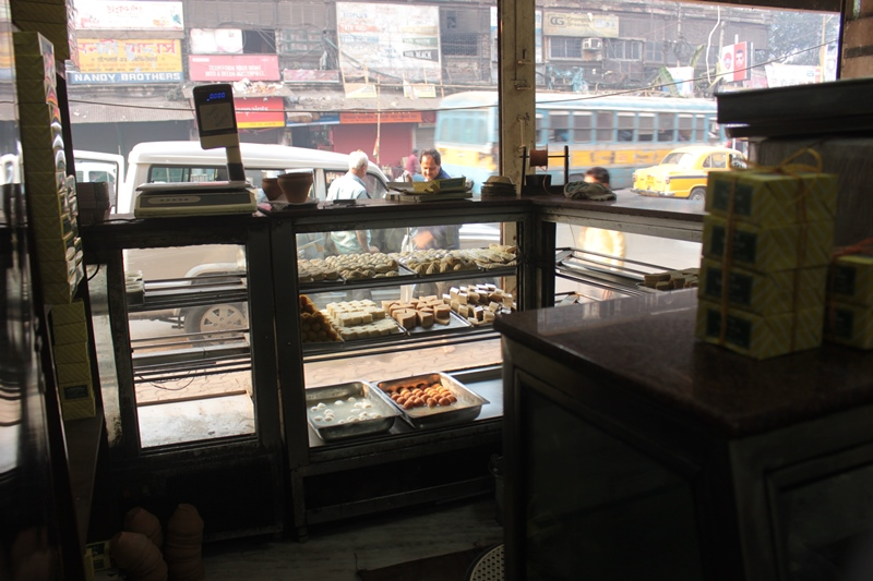 Sweets @Deshbandhu Mistan in Kolkata