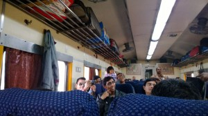 Train to Shantiniketan, West Bengal