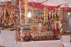 Arts & Crafts @Poush Mela-- Shopping in Shantiniketan