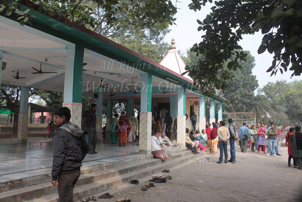 Kankalitala Temple in Bolpur