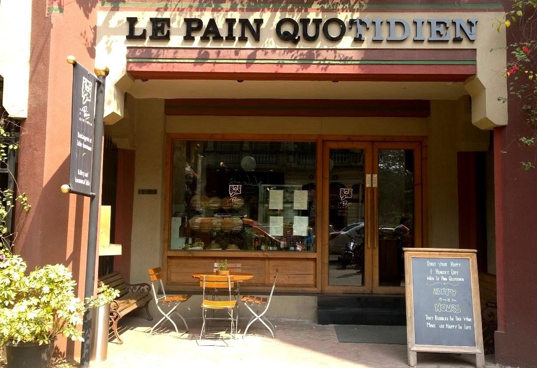 Le Pain Quotidian , Colaba