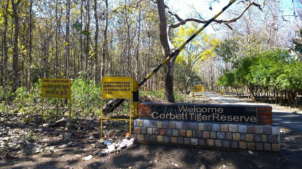Entrance Tiger Safari @Jim Corbett National Park