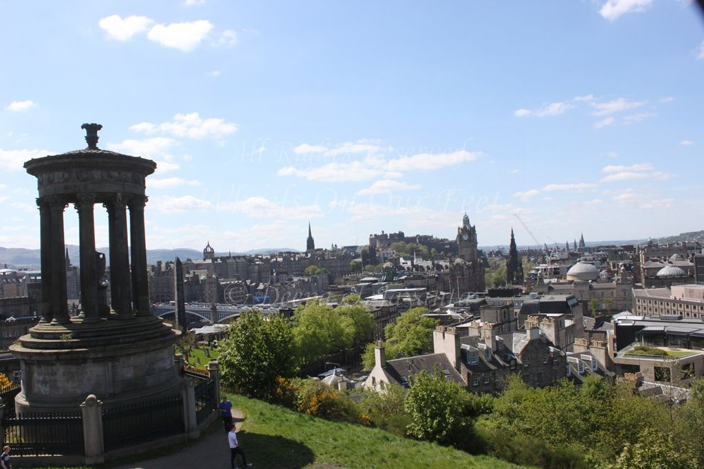 Calton Hill in Edinburgh (Scotland)