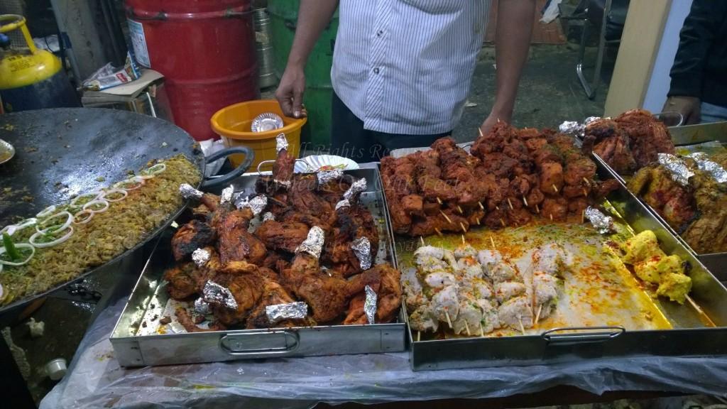 Ramadan Feast in Bangalore's Mosque Road in Frazer Town