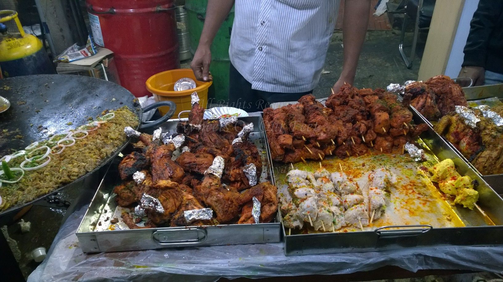 Ramadan Feast in Bangalore's Mosque Road in Frazer Town
