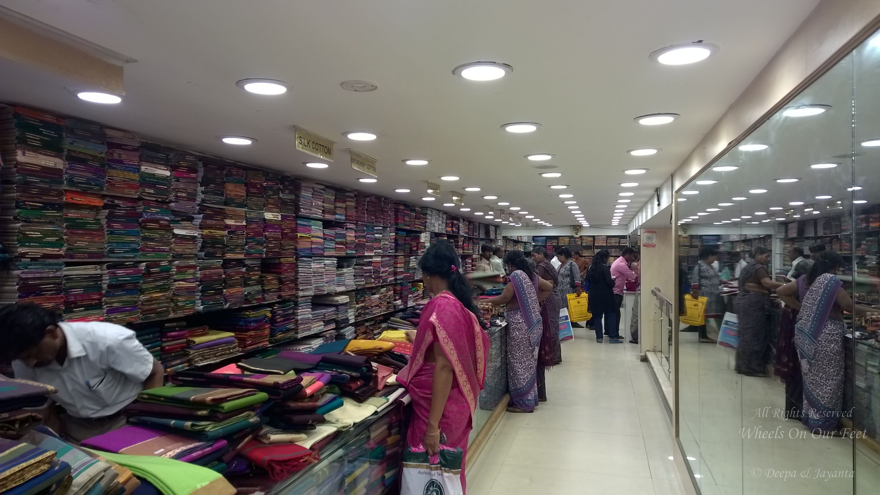 Best Saree shops in Chennai