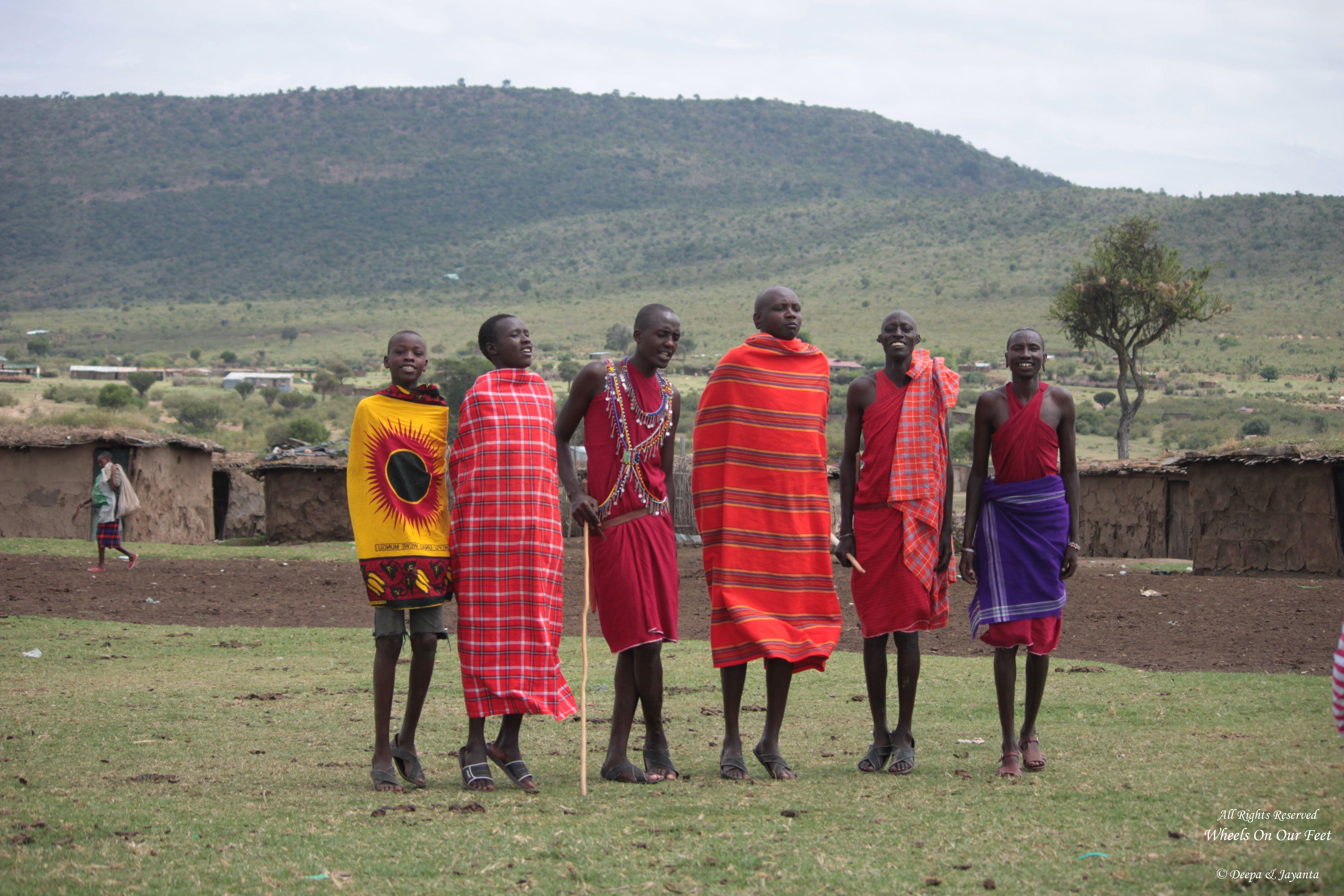 Tour of a Masai Village in Masai Mara, Kenya