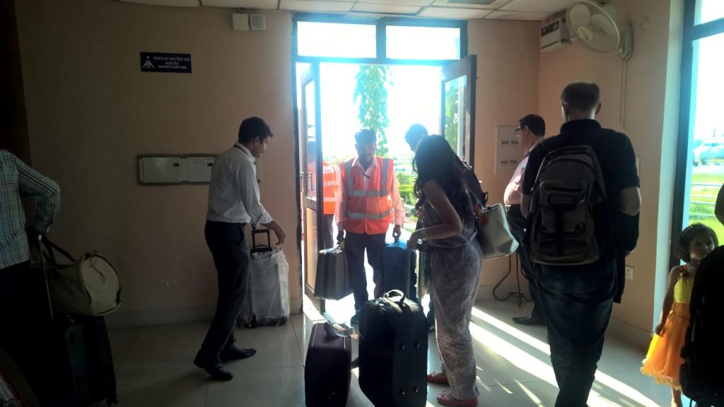 Pantnagar Airport -- Arrival