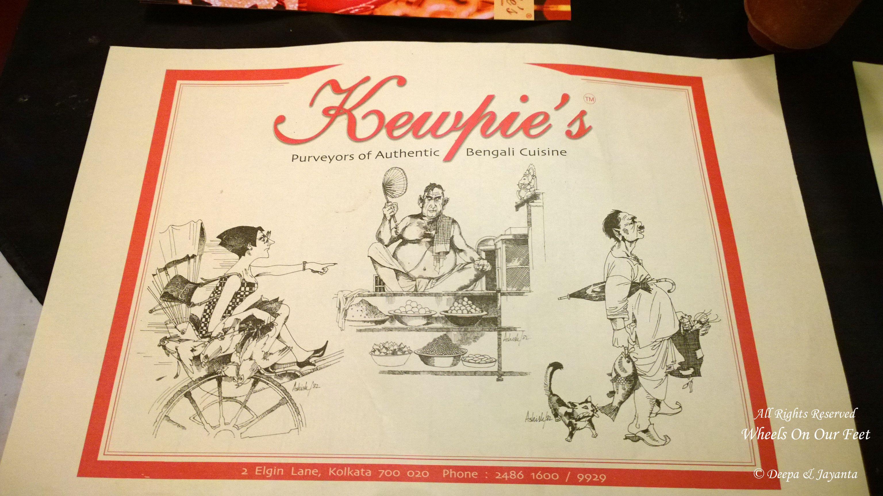 Restaurant Review: Kewpies in Kolkata