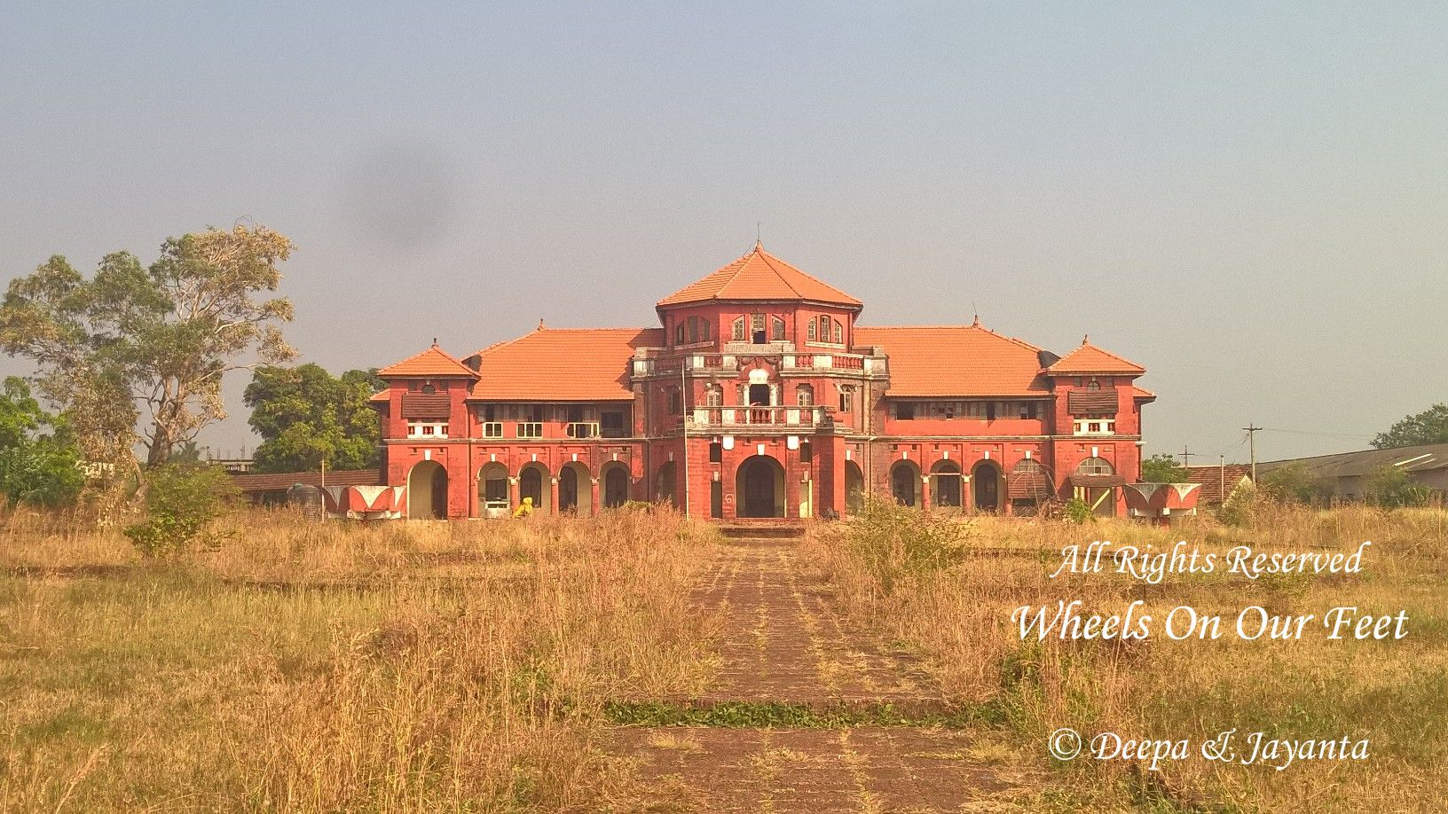 Sight-seeing in Ganapatiphule -- Thebaw Palace