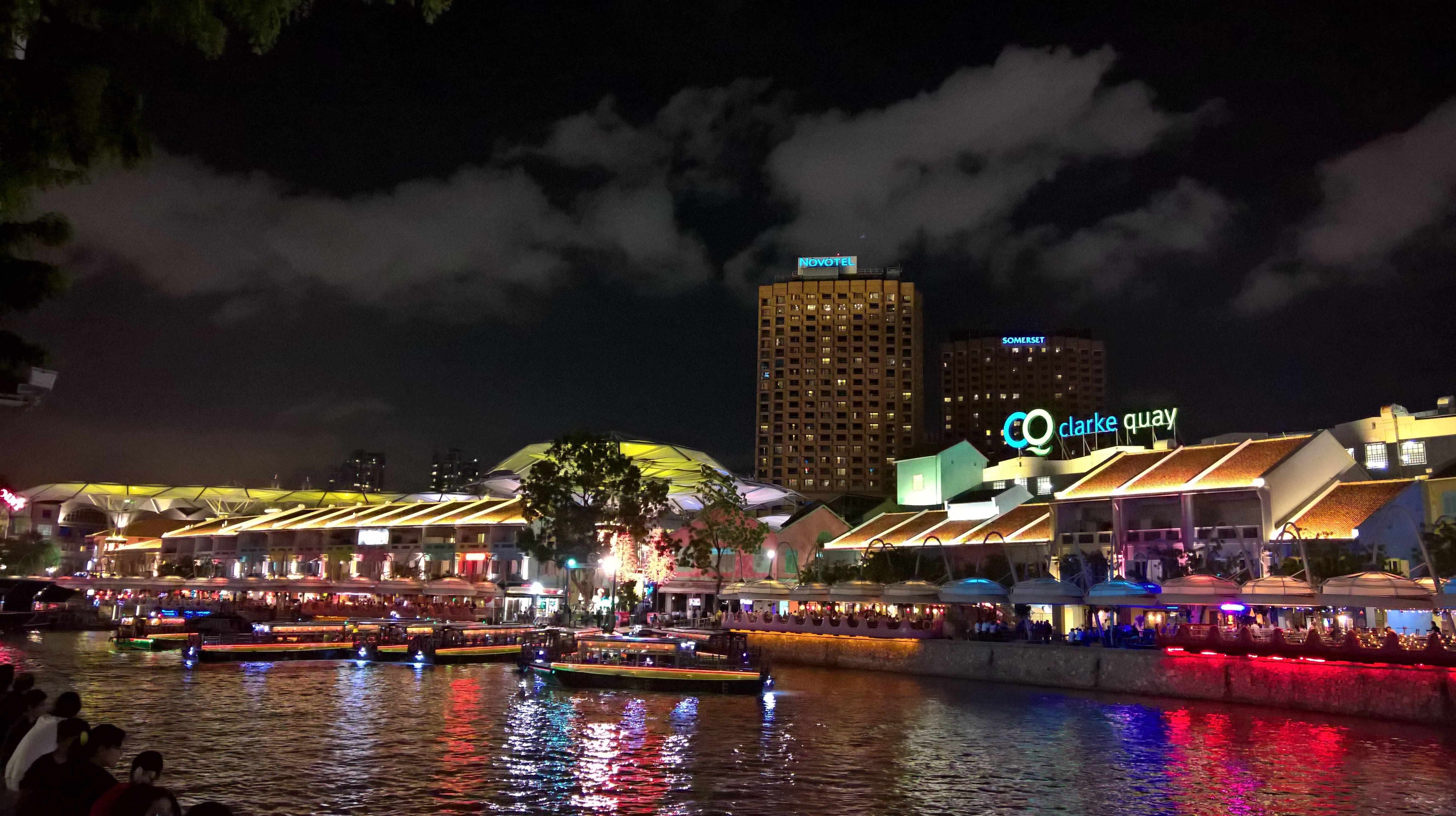 go restaurant hopping in clarke quay singapore wheels