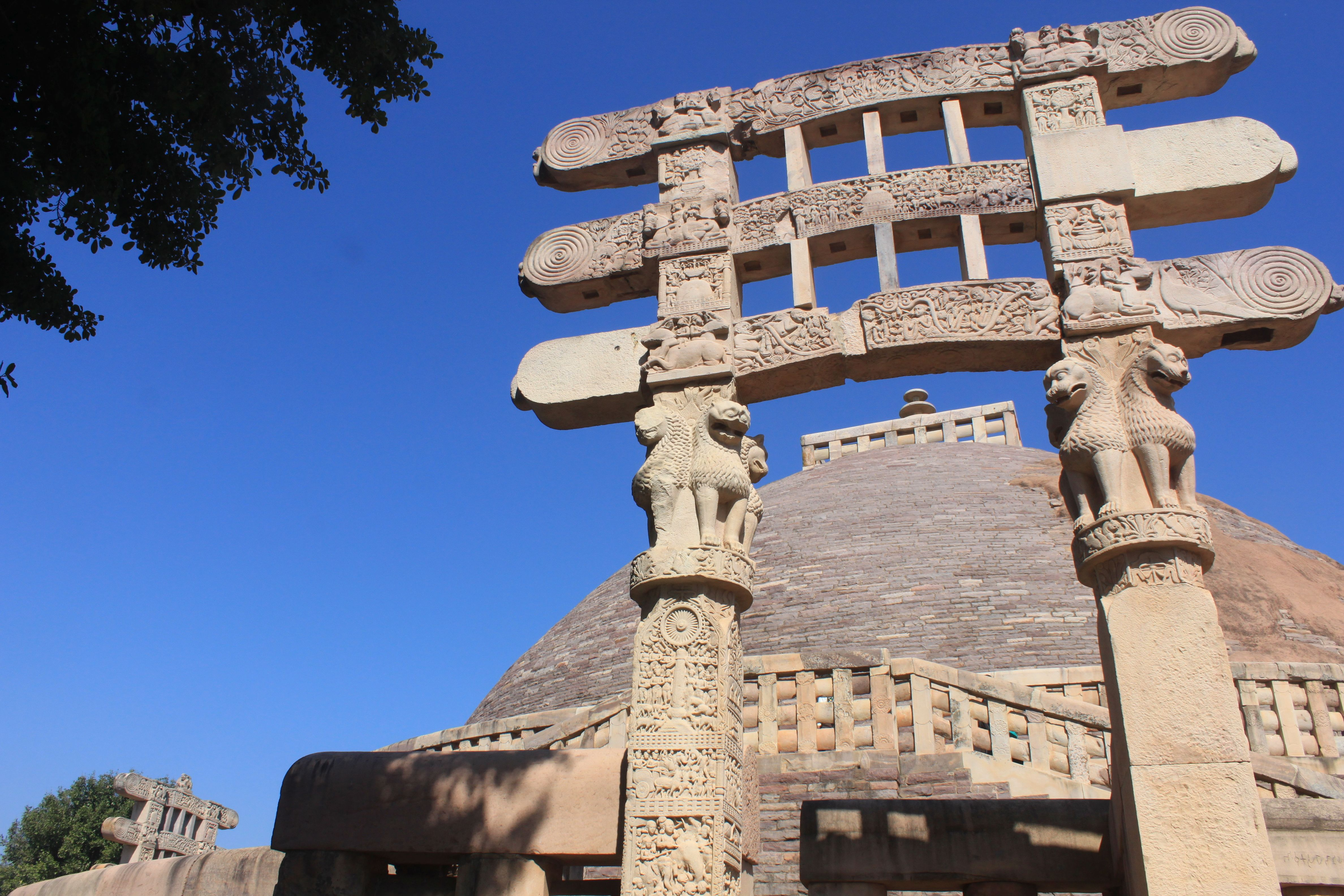 Must See Places in Bhopal -- Sanchi Stupa