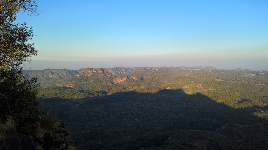 Sight-seeing in Panchmarhi -- Dhoopgarh