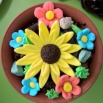Flower making birthday party (15)