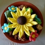 Flower making birthday party (17)