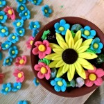 Flower making birthday party (18)