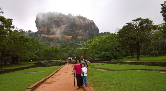 Tour of Sigiriya, the ancient city of Sri Lanka