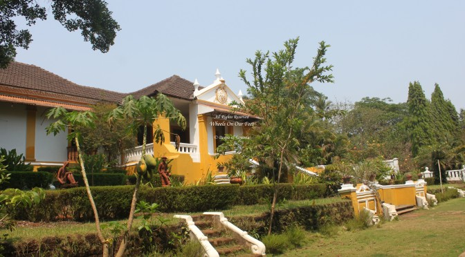 Go Hopping Heritage Houses in Goa