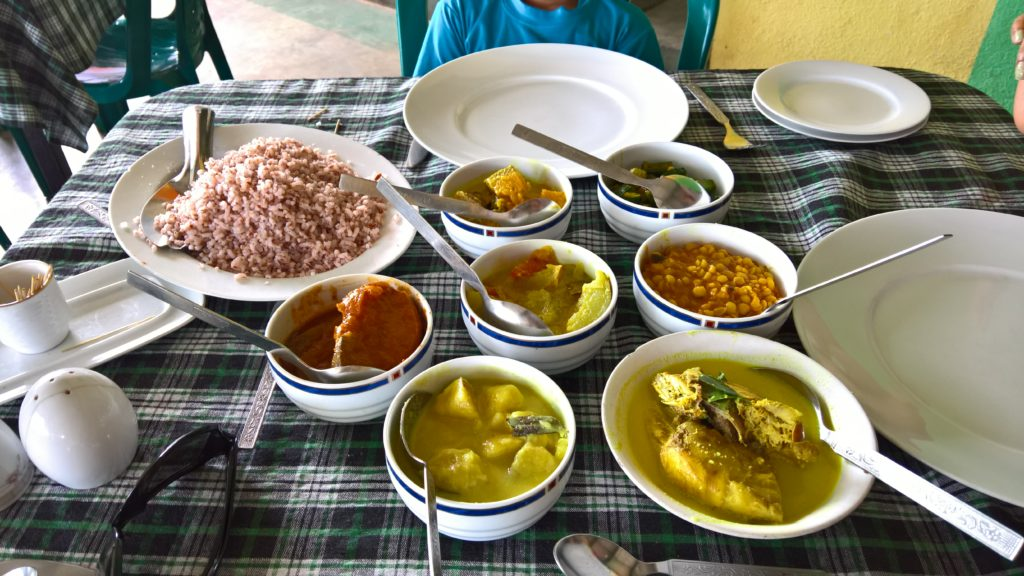 Sri Lankan Lunch
