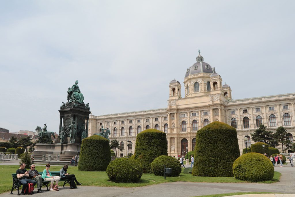 Sight-seeing in Vienna, Austria