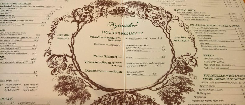 Restaurant Review -- Figlmüeller in Vienna, Austria