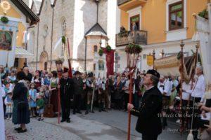 Corpus Christi celebrations in Hallstat, Austria
