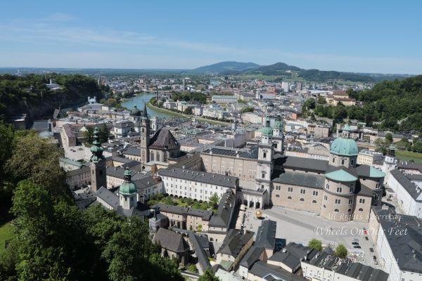 Sight-Seeing in Salzburg, Austria