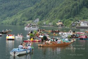 Corpus Christi procession in Hallstat, Austria
