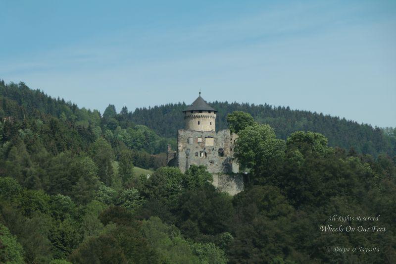 Drive from Hallstat (Austria) to Cesky Krumlov (Czech Republic)