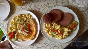 Kutna Hora restaurant near St Barbara