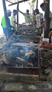 Sea Food Barbeque in Cebu, Phillippines