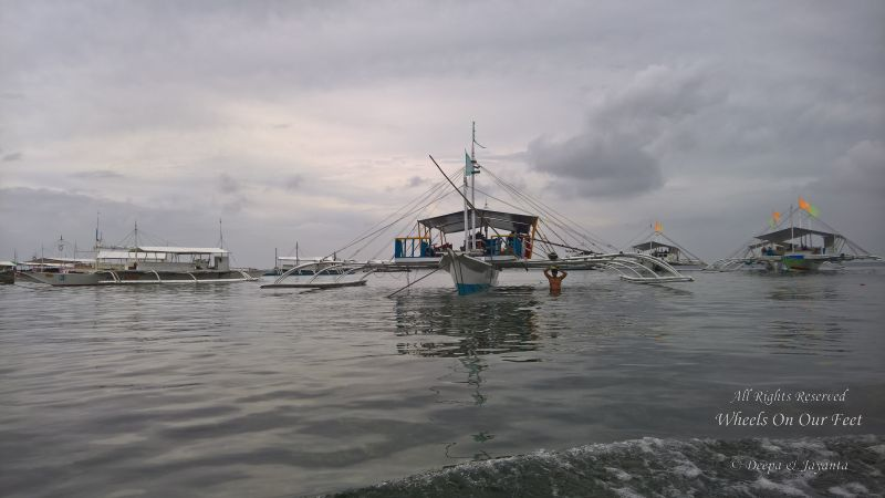 Island hopping in Cebu, Phillippines