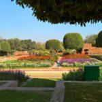 The Mughal Gardens, Rashtrapati Bhavan in Delhi, India